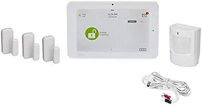 Qolsys IQ Panel 2 Plus AT&T 3-1 Kit - Alarm System Kit w/ 3 Door/Window Sensor & 1 Motion