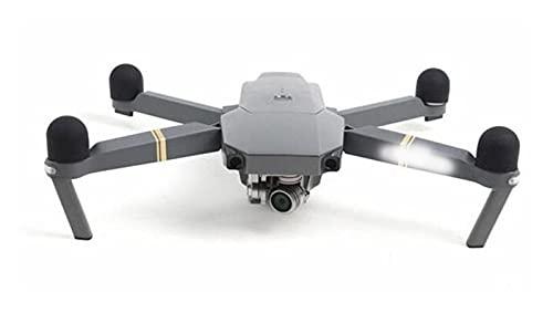 Parti del drone, 4 pezzi/set Protezione motore in silicone per protezione motore per Dji per Mavic Pro/per Mavic 2 Pro/Zoom (Color : Black)