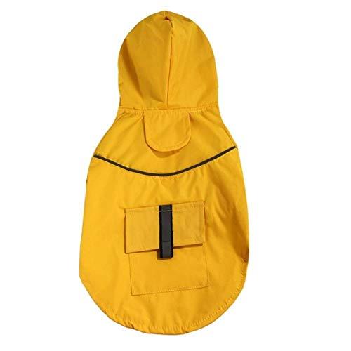 Xinger lente zomer hond regenjas kleding waterdichte regen jumpsuit voor grote middelgrote kleine honden Golden Retriever Outdoor huisdier kleding jas, Y, M