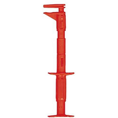 Beha Amprobe 391511 veiligheids-vlakmeetabgrijper bus 4 mm CAT III 600 V rood