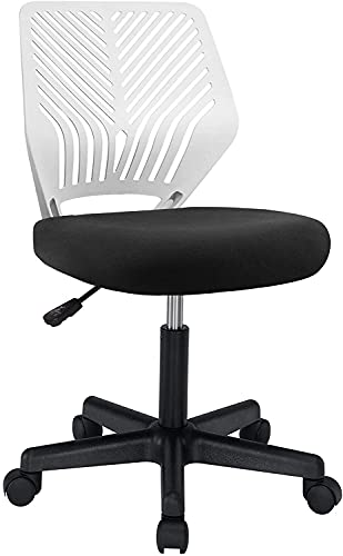 BOSSIN Kids Desk Chair Office Computer Chair for Teens,Mid-Back Armless Ergonomic Task Chair...