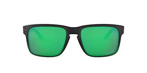 Oakley 0OO9102 Occhiali da Sole, Nero (Jade Fade), 57 Uomo