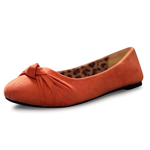 Top 10 best selling list for orange flats womens shoes