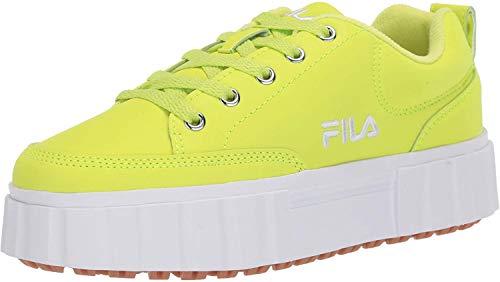 Fila Damen Turnschuh, Limettengrün Neon, 38.5 EU