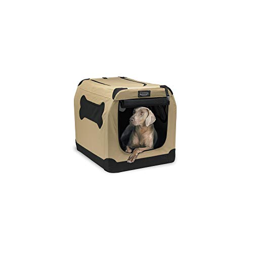 Petnation Port-A-Crate Indoor and Outdoor Home for...