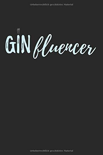 Ginfluencer: 6X9 Zoll Notizbuch – Gepunktet