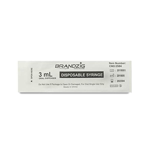 buy  Brandzig 3ml Syringe – 100 Pack – Luer ... Diabetes Care