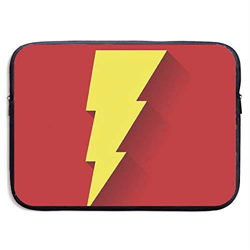 Shazam Tragbare Laptoptasche, Computer-Aufbewahrungstasche Schwarz Schwarz 38,1 cm