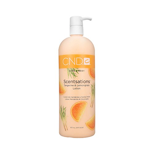 CND Scentsations Tangerine & Lemongrass Hand & Body Lotion – 31oz by Creative Nail Design
