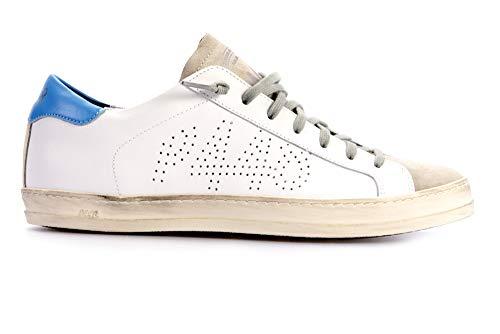 P448 Sneaker John Uomo White Schuhe Sneaker Herren White John 41