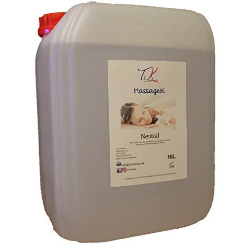 10L Massageöl, Basis Öl, Neutral, Thai Massage