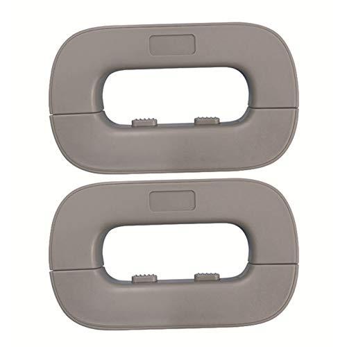 Vtops Cerradura de seguridad para bebés para niños, cerradura de puerta de refrigerador, multiusos, para nevera, fácil de instalar y usar, adhesivo 3M, sin necesidad de herramientas ni taladro.