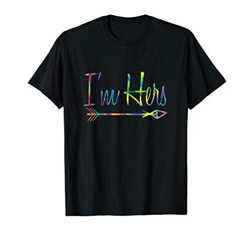 I'm Hers Lesbian Couple Matching She's Mine T-Shirt