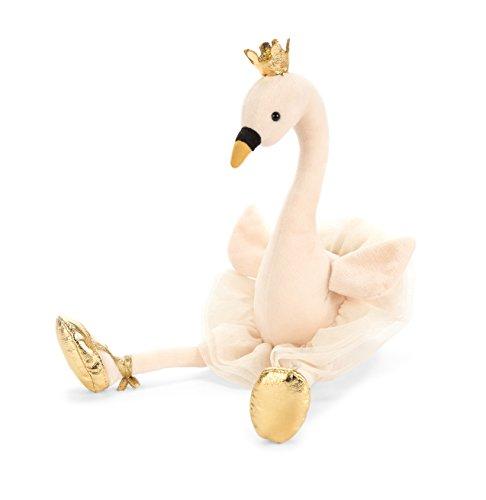 Jelly Cat Fancy Swan - Peluche cisne bailarina, Multicolor, 34 cm