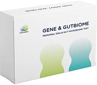 Psomagen Gene & GutBiome : at-Home DNA and Gut Health Test Bundle [Limited Time Offer, Reg. $199] Personal & Wellness Traits, Nutrition & Diet, Metabolism