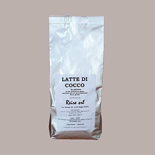 LUCGEL Srl 1 Kg Latte Di Cocco In Polvere ad Uso Alimentare Umano Alternativa al Latte in Polvere...