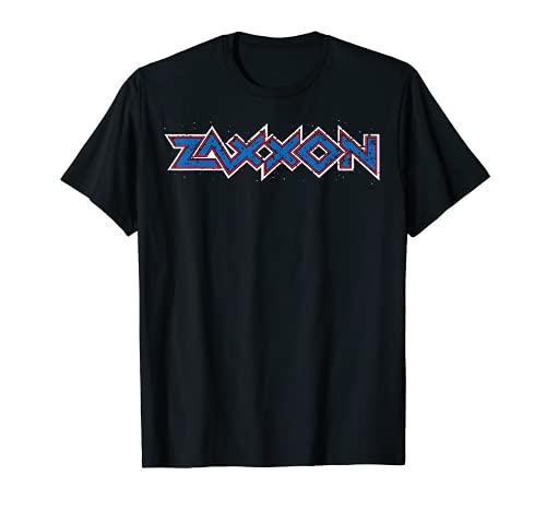 Zaxxon 80s Video Game Logo T-Shirt. Many Colors for Men or Women