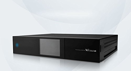 VU+ Solo 4K - Receptor DVB-S2 (PVR Ready Twin Linux, incluye disco duro de 500 GB)
