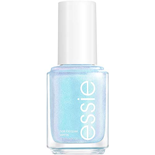 essie Nail Polish, Limited Edition Let It Ripple Collection, Light Blue Nail Color With Shimmer Effect, let it ripple, 0.46 Fl Ounce