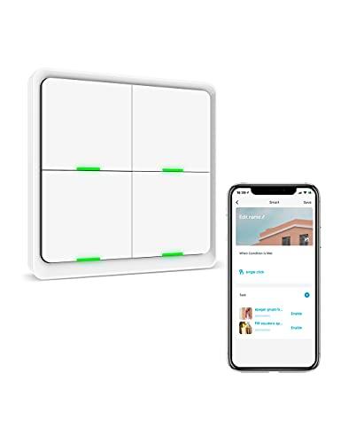 Switch scenari zigbee 4 pulsanti Si Smat, Smart Control su App Smart Life