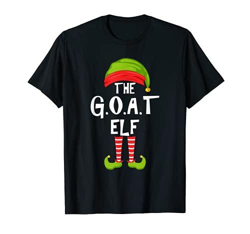G.O.A.T. Grupo de pijamas para la fiesta familiar de Navidad Camiseta