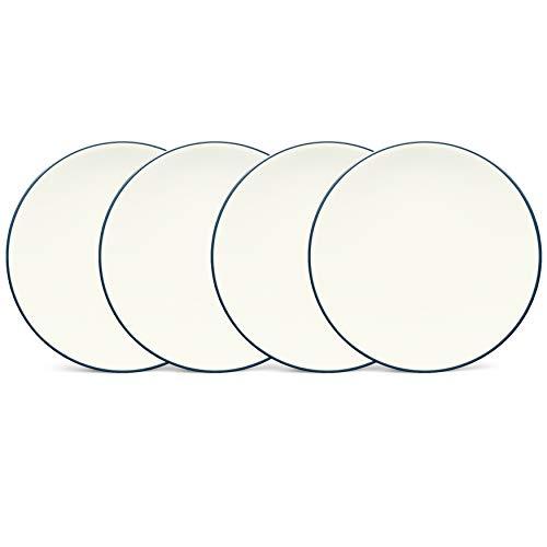 Noritake Colorwave Blue 6-1/4-Inch Plates, Set of 4