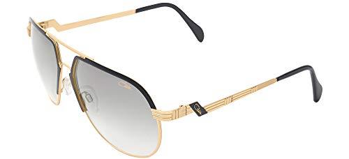 Cazal Sonnenbrillen (9083 001) schwarz matt - gold - grau verlaufend