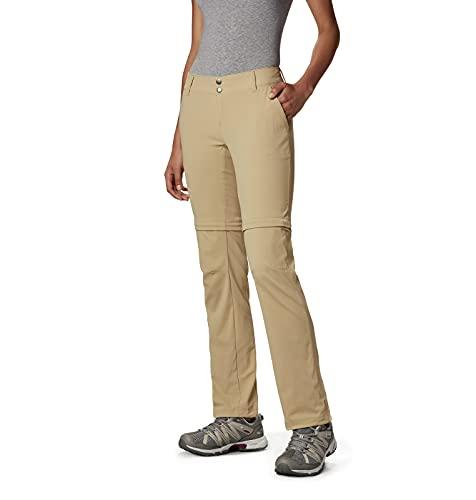 Columbia Women's Standard Saturday Trail II Convertible Pant, British Tan, 6 Regular