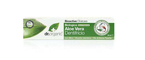 Dr Organic tandpasta Aloë Vera 100 ml, prijs / 100 ml: 6,95 EUR