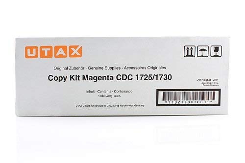 Utax CDC 1725 - Original Utax / 652510014 / CDC1725 / Toner Magenta - 12000 pages