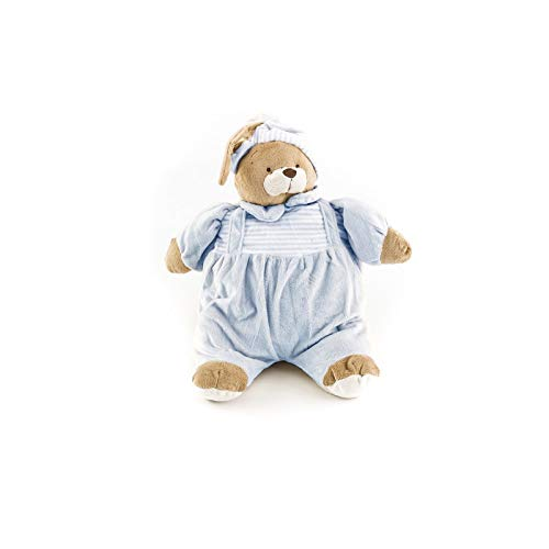 Duffi Baby- Peluche Porta Pijama, 100% Poliéster, Color Azul (Master Baby Home, S.L. 4101-12)