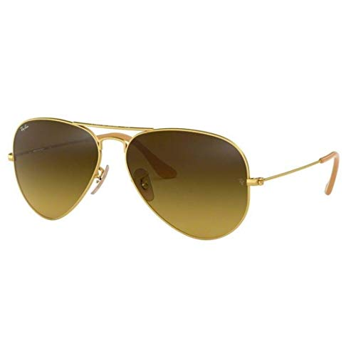 Ray Ban 0RB3025 - Gafas de sol Large Metal, 112/17: Oro mate - 55 mm