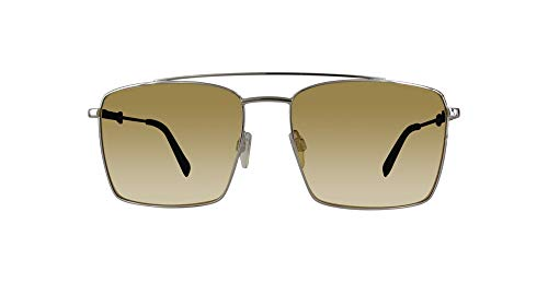 Just Cavalli Jc909s-16e-58 - Gafas de sol para hombre, color plateado y metálico