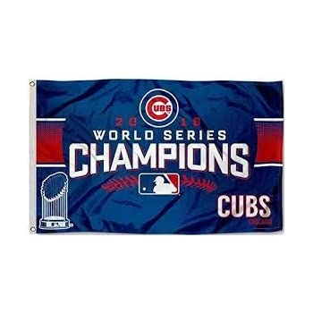 Rico Chicago Cubs World Series Champs Banner Flag