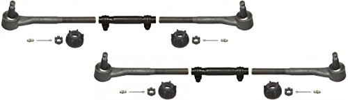 NEW SOUTHWEST SPEED 65-68 GM FULL SIZE TIE ROD LINKAGE KIT WITH INNER & OUTER TIE RODS AND ADJUSTING SLEEVES, 1965 1966 1967 1968 CHEVY IMPALA BEL AIR BISCAYNE CAPRICE CHEVY GMC C10 G10 P10 C15 C1500 G1000 G15 G1500 P15 P1500