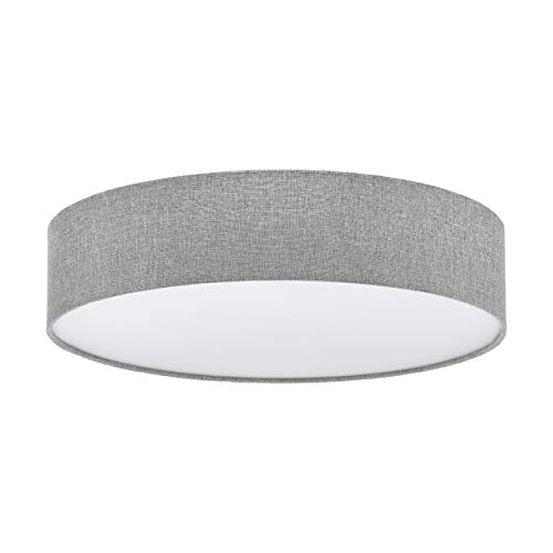 EGLO PASTERI plafondlamp, staal, 60 W, wit