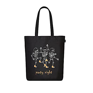EcoRight Canvas Tote Bags for Women, Printed Organic Cotton Bags for Women, Cute Hand Bag for Girls for College, Travel, Grocery, Reusable Shopping Bag | Book Bag