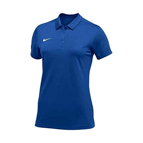 Nike Team Short Sleeve Polo Female Royal Medium