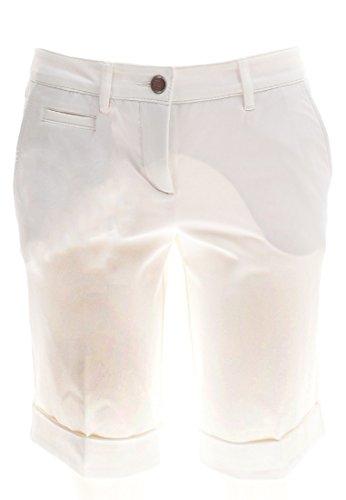 ALBERTO Damen Golfhose Golf Bermuda Shorts Audrey-K 3xDry in Weiß Größe 32