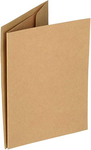 Darice Core'dinations Cards & Envelopes - Kraft - A2-50 Sets
