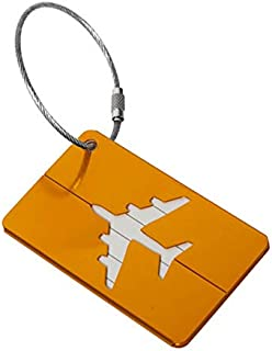Aluminum Alloy Funky Travel Luggage Label Straps Suitcase Luggage Tags