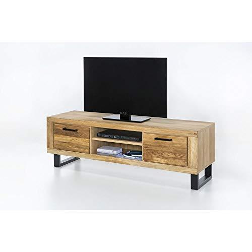 Elfo TV-Lowboard TV-Kommode Klara 170cm breit Wildeiche geölt Teilmassiv NEU/OVP