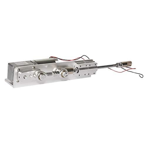 Actuador lineal de ciclo alternativo de bricolaje 12 V 24 V con motor de engranaje de CC carrera de 30 mm, 50 mm, 70 mm para diseño de bricolaje (12 V, 160 RPM)