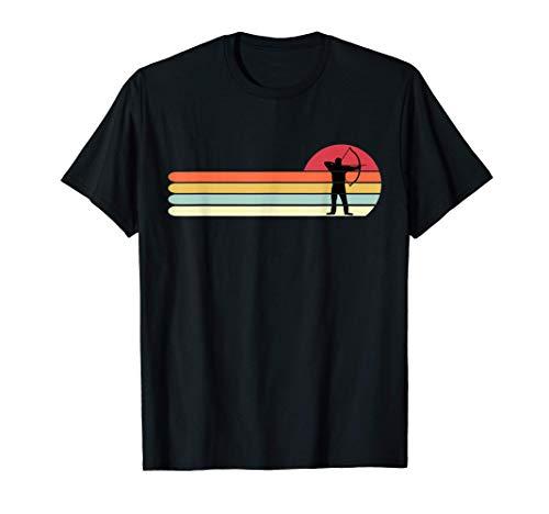 Camiseta de tiro con arco divertida, regalo retro vintage de Camiseta