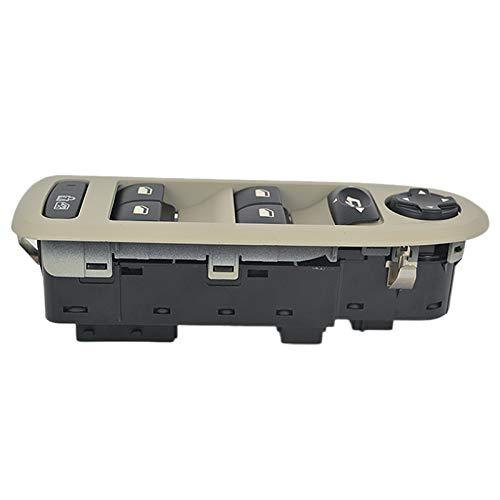Huante - Botón de elevación de interruptor de control principal de ventana eléctrica 98053439 6490.QY 30170396 98054508ZD para 308508 C5