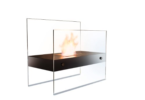 Carlo Milano Ethanol Kamin: Lounge-Feuer Avantgarde für Bio-Ethanol (Bioethanol Stand Kamine)