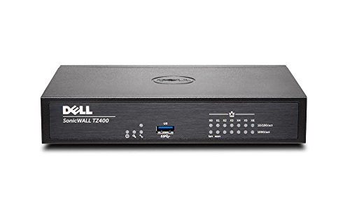 SonicWall TZ400 Network Security Appliance 3YR Secure Upgrade Plus 01-SSC-0505