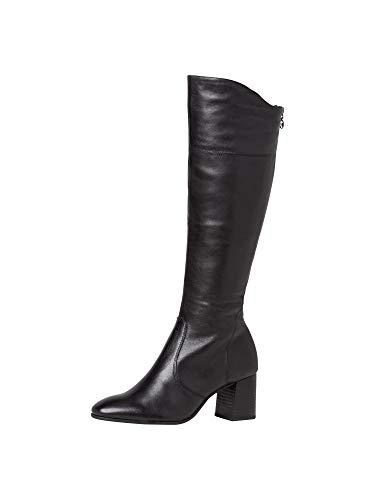 Tamaris Damen 1-1-25515-25 001 Stiefel ANTIslide, Removable Sock, XS Shaft, Vario