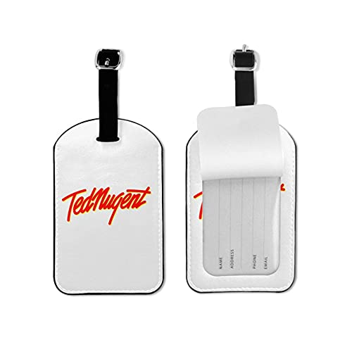 Etichette per bagagli sicure in microfibra PU pelle valigia bagagli tag porta biglietti da visita/viaggio ID Bag Tag