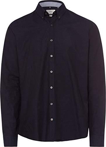 BRAX Herren Style The Broken Oxford Freizeithemd, Navy, XX-Large
